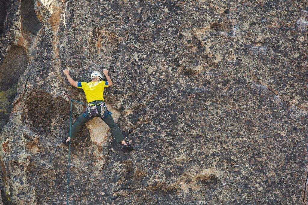 Advanced rock climbing techniques
