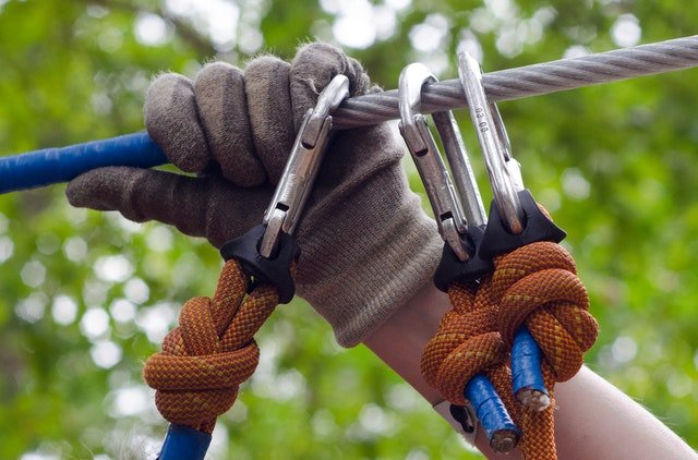 How to use a rappel ring